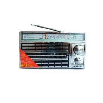 Harga Souness Radio Portable AC/DC 3 Band FM/AM/SW SNI-4250