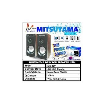 Harga MS-4011 Speaker Komputer HP / Multimedia Desktop Speakers