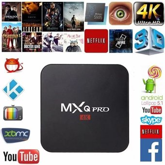 MXQ Pro Android TV Box S905 4K Digital TV Streaming Box Quad Core Android 5.1 - intl
