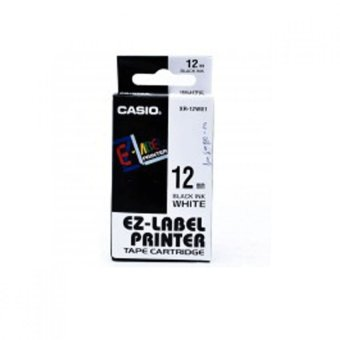 Harga Casio EZ- Label Tape XR-12WE1- Putih