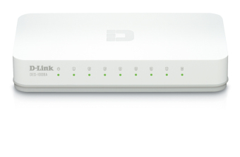 Harga D-Link DES-1008C 8-Port 10/100 Desktop Switch - Putih