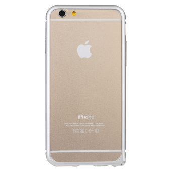 Harga Baseus Arc Bumper Case for iPhone 6 Silver