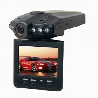Harga HD DVR Car Recorder 6 IR LED 2.5 Inch TFT Color LCD HD Car DVR Camera - PD-198 - Hitam