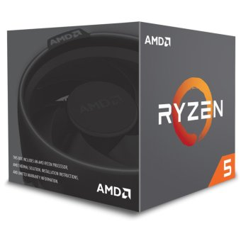 Harga AMD Ryzen 5 1400 3.2Ghz Up To 3.4Ghz Cache 8MB 65W AM4 [Box] - 4 Core - With AMD Wraith Stealth 65W Cooler