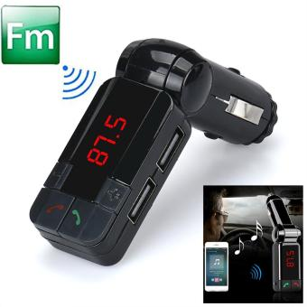 Harga coconie Hot Dual USB Car Kit Charger Wireless Bluetooth Stereo MP3 Player FM Transmitter - intl