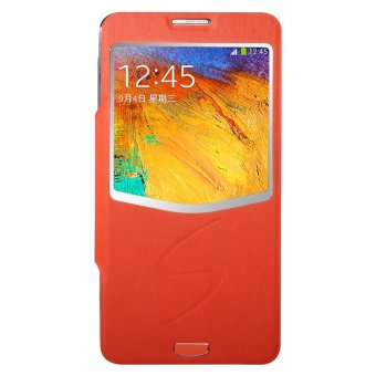 Harga Baseus Ultrathin Folder Cover - Samsung Galaxy Note 3 - Orange