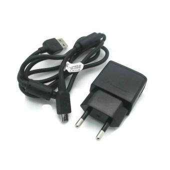 Harga Sony Accessories Charger Adapter + Cable Data Micro T3 / M2 / Z2 - Hitam