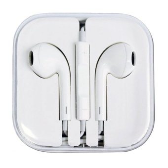 Harga Accessories Hp High Copy Apple Earphone Handsfree iPhone 5/5c/5s Headset