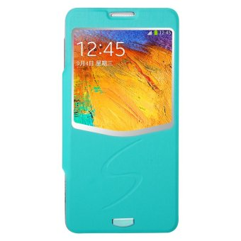 Harga Baseus Ultrathin Folder Cover - Samsung Galaxy Note 3 - Cyan
