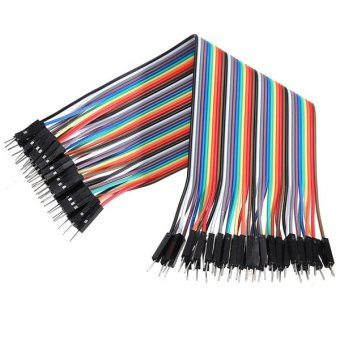 Harga Arduino Dupont Line Kabel Pelangi 20cm Male To Male - Male To Female - Female To Female Jumper Wire - 120 Buah