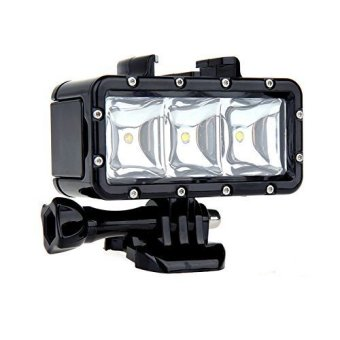 Harga Shoot Waterproof Video Light LED Lampu for Action Cam