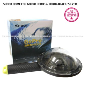 Harga Shoot Dome for Gopro hero3+/ hero4 Black/ Silver - Original