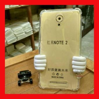 Harga Case AntiCrack / Anti Crack / Shock / Benturan Elegant Softcase for Xiaomi Xioami Xiomi Redmi Note 2 / Prime - Clear
