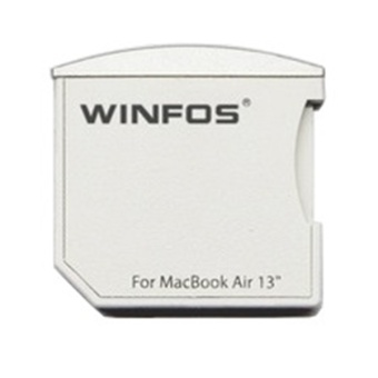 Harga Winfos The Nifty Mini Drive MicroSDHC Card for Macbook Air 13 Inch - Putih