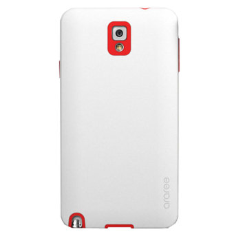 Harga Araree Samsung Galaxy Note 3 Case - Putih-Merah