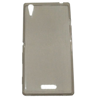 Harga Emco for Sony Xperia T3 Executive Premium Max MR OEM Back Side Cover Bumper Case - Abu-abu
