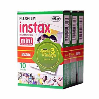 Harga Fujifilm Paper Film for Instax Mini [3 Pack]