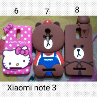 Harga Case Brownie Xiaomi Redmi Note 3 / Silicon Case Xiaomi Note3 Karakter