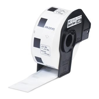 Brother Label Tape DK-11221 Square Paper Labels (23mm x 23mm) - Putih