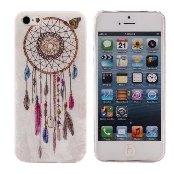 Harga Dream Catcher Painting Soft TPU Skin Case Cover For iPhone 5 5G 5S - intl