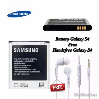 Harga Samsung Battery GT-I9500 For Galaxy S4 2600mAh + Handsfree Samsung S4 White - Original