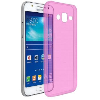 Harga Ultrathin Softcase Samsung Galaxy J1 Ace - Pink