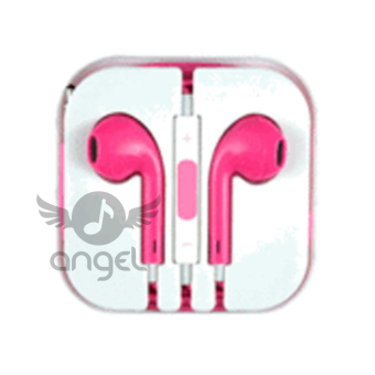 Harga Apple OEM Earphone for iPhone 5/5S - Hot Pink
