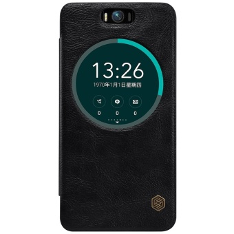 Harga Nillkin QIN Leather Case for Asus Zenfone Selfie ZD551KL - Hitam