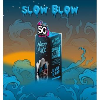 Harga Nasty Juice - Premium Juice E-liquid - SLOW BLOW - 50 ml