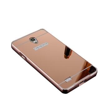 Casing Metal Aluminium Case Oppo Joy 3 / A11 - Rose Gold