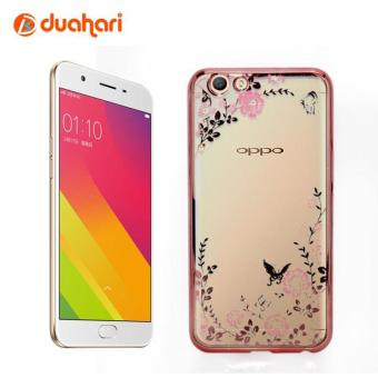 Harga Oppo F1s Case Shining Luxury Flower Secret Garden + Ring Diamond