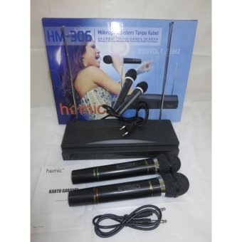 Harga MicroPhone Wireless Double