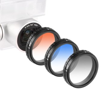 Harga Neewer for DJI Phantom 3 Professional & Advanced Graduated Color Lens Filter Set