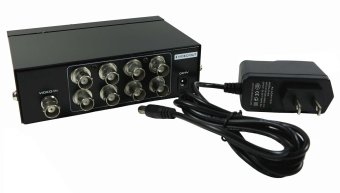 Harga 8 Ports BNC Video Splitter Distribution Amplifier Mt-108bc