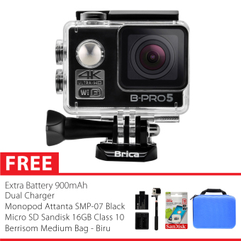 Harga BRICA B-PRO 5 Alpha Edition 2 (AE2) 4K Combo Awesome (B) - Hitam