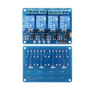 Harga Arduino Compatible 4 Channel Relay Module Control Board with Optocoupler