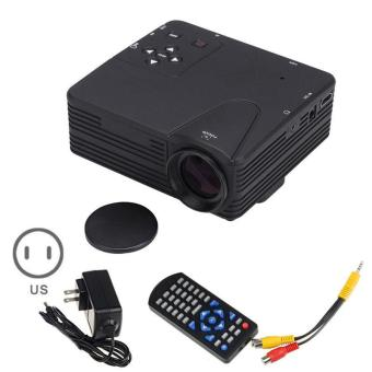 Harga YBC US Specification Mini LED Projector Home Image System for DVD PC - intl
