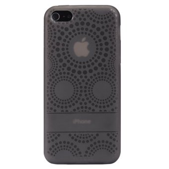 Harga Baseus Sun Flower TPU case for iphone 5c black