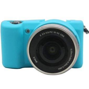 Harga Rajawali Silicone Case for Sony Alpha A5000/A5100 - Blue