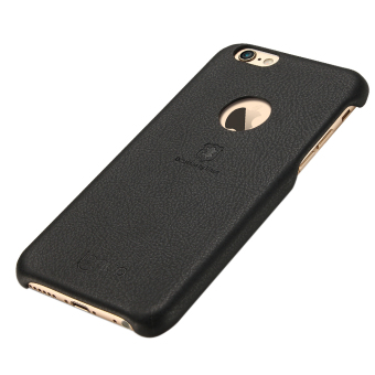 Harga Lenuo Original Cases Elegant PU Leather PC Back Cover Protective for iPhone 6Plus/iPhone 6s plus(Black) - Intl