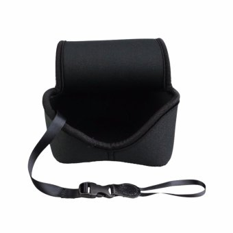 Harga JJC Ultra Light Neoprene Mirrorless Camera Pouch Camera Case Bag for Canon EOS M M2 M3 M10+18-55mm or 15-45mm or 11-22mm Lens, Nikon 1 J1 J2 J3 J4 J5+10-100mm or 30-110mm Lens,Nikon COOLPIX L810 L820 L830 --Medium (up to 113 x 69 x 112mm) - intl