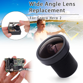 Harga XCSource OS056 2.5mm Wide 170 Degree Replacement Lens for Sport Camera Gopro Hero 2