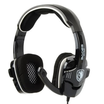 Harga Sades SA922 3in1 Headsets Multifunction Gaming Headphone For PC PS3 XBOX360
