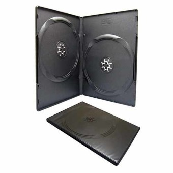 Harga Verve Case DVD Double 7MM isi 50 - Hitam