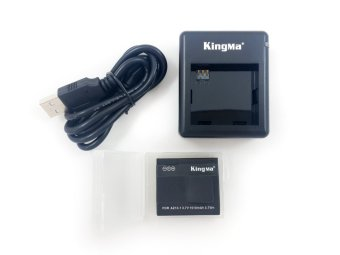 Harga Kingma Battery (Baterai) & Dual Charger for Xiaomi Yi