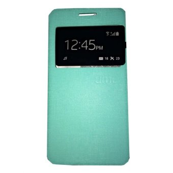 Harga Ume FlipCover Samsung Galaxy J3 2016 J310 Flip Shell / Leather Case / Sarung HP / View - Hijau Tosca