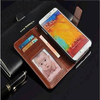 Harga Casing Samsung Galaxy Note 3 Flip Leather Case
