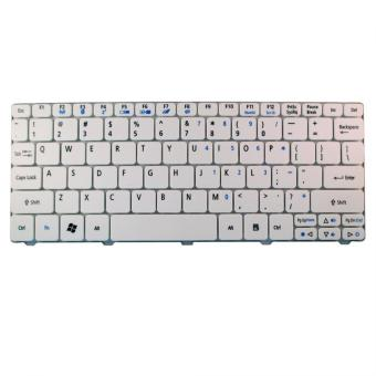 Harga Keyboard Acer Aspire One Happy 532h D255 D260 - White
