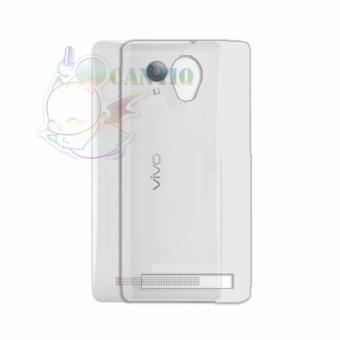 QCF Ultrathin Case Untuk Vivo Y28 Ultrafit / Silicone Jelly Air Soft Back Case - Bening
