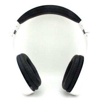 Log On InTone Stereo Headphones Headset With Microphone LO-NB-680 - Putih